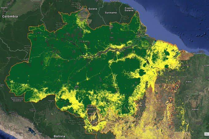 Amazônia: área mais afetada por queimadas não está no roteiro de Mourão 1